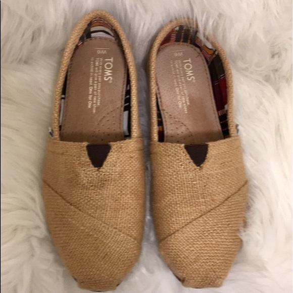 Toms Shoes | Classic Natural Burlap